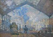 Puzzle Gare Saint Lazare