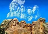 Les 4 présidents du Mont Rushmore