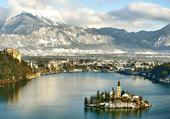 Puzzle Lac de Bled-Slovénie 2