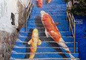 Escalier insolite-Séoul