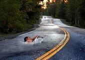 natation sur la nationale