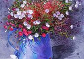 Nature morte de fleurs