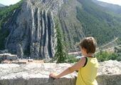 Mon petit fils en vacances à Sisteron