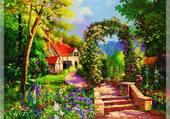 joli jardin