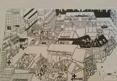 Les bâtiments de la ville