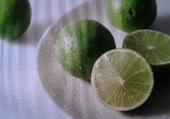 Citrons limes .