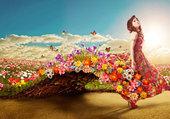 La fille du printemps
