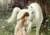 mon cheval blanc et moi