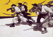 Pirates par N C Wyeth