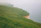 les falaises au nord de Dieppe