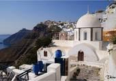 Puzzle Couole blanche en Grèce