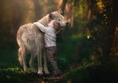 L'enfant & le loup... tendresse