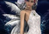 elfe aux ailes d ange