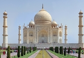 Le Taj Mahal, en Inde.