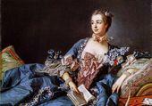 Mme de Pompadour par Le Boucher