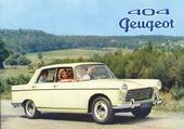 404 Peugeot 1960