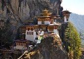 Puzzle monastère au bhoutan