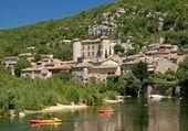Puzzle Vogüé dans l'Ardèche
