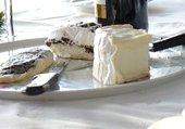 plateau de fromage bien entamé