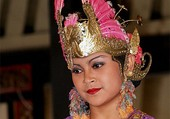 Danseuse Indonsienne