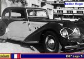 Talbot-Lago T120 Baby  R.Baillon