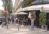 Le café de Flore St. Germain des Prés