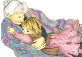 calin de grand mère