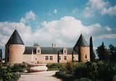 Château vu depuis les jardins