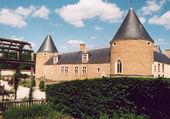 Chamerolles vue du château