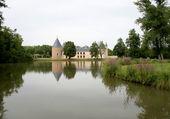 Vue générale jardins et étang
