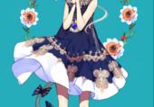 Neko girl Manga blanche