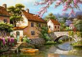 joli pont romantique