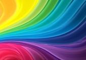vagues colorées