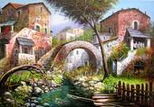 le pont des deux maisons