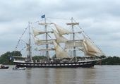 le Belem remontant la Loire