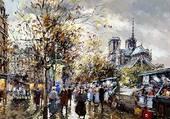 Puzzle Les bouquinistes-Paris