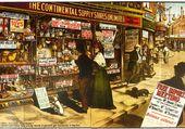Puzzle Londres en 1910