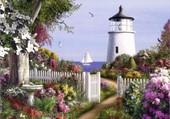 Jardin en bord de mer