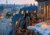 Puzzle balcon a paris
