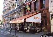 Boulevard St.Germain la brasserie Lipp