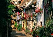 Puzzle beau village