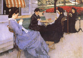 Couture - Gustave Caillebotte
