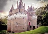 Vue du Château de Rampures