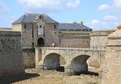 Intérieur citadelle de Port-Louis