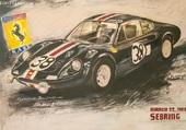 afiche des 12h de Sebring 1969