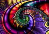 fractale en spirale