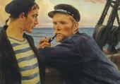 les marins-albert Edelfelt