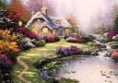Puzzle paysage paisible