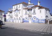 une gare au portugal