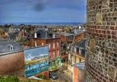 Puzzle Pluie de couleurs sur la ville
